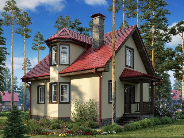 Каменный дом Эдельвейс