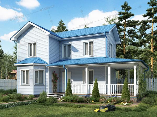 Каркасный дом Бристоль-3