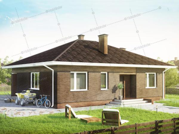 Каркасный дом Веста