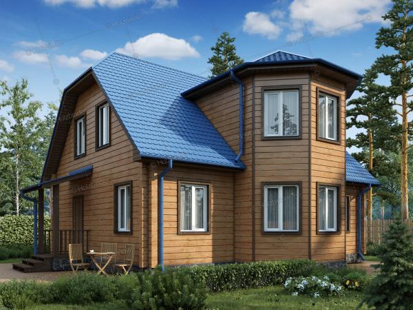 Дом из клееного бруса Романов