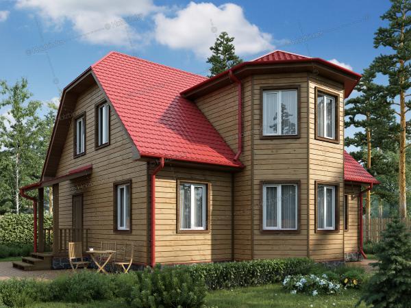 Дом из профилированного бруса Романов