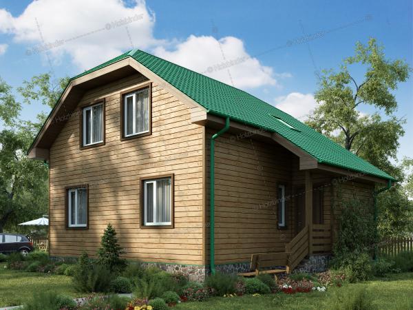 Дом из профилированного бруса Старгород
