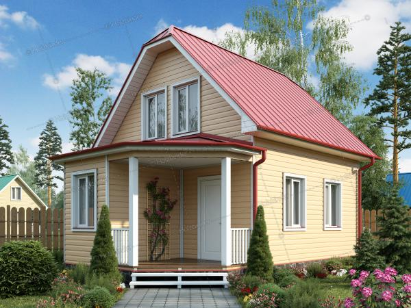 Каркасный дом Ладога-2