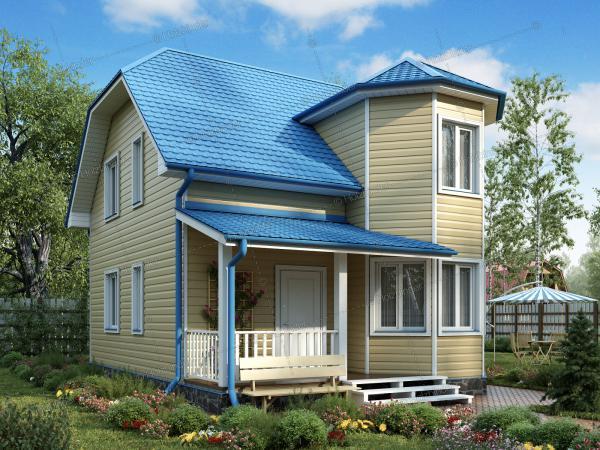 Каркасный дом Верден