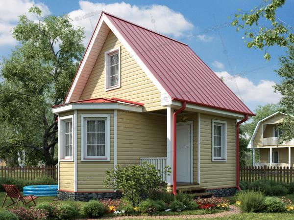 Каркасный дом Колибри