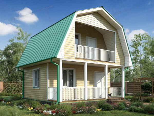 Каркасный дом Мечта