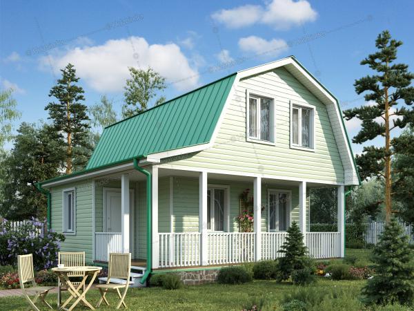 Каркасный дом Новый Свет