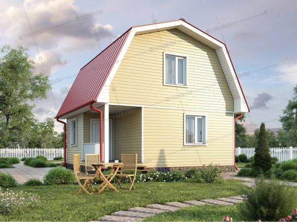 Каркасный дом Озерный