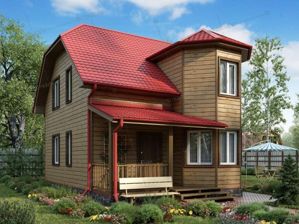 Дом из клееного бруса Верден