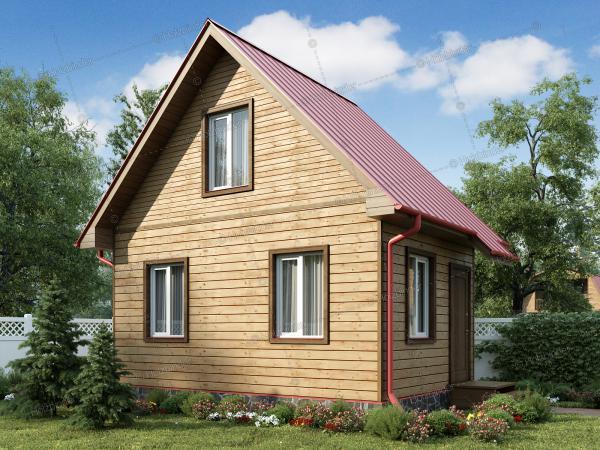 Дом из профилированного бруса Малыш