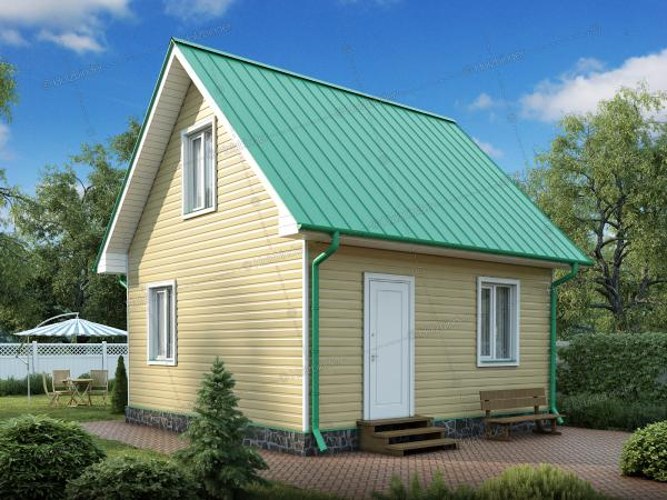 Каркасный дом Дачный