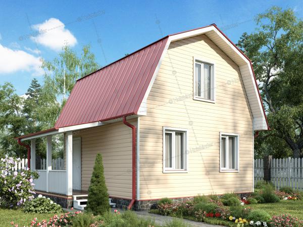 Каркасный дом Крепыш