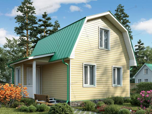 Каркасный дом Крепыш-2