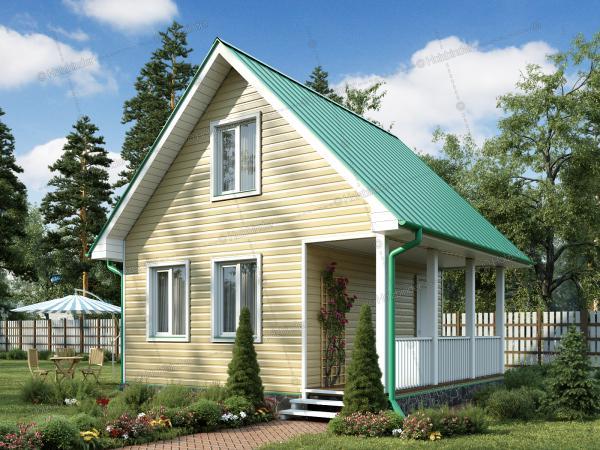 Каркасный дом Лесной