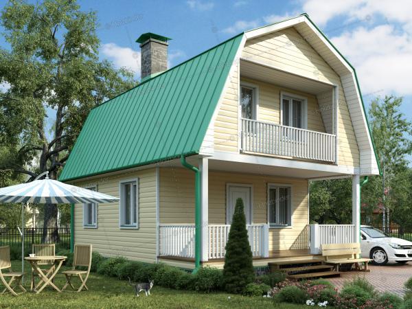 Каркасный дом Мечта-2