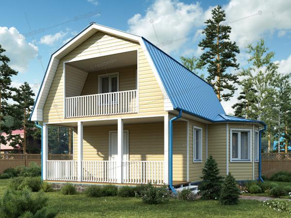 Каркасный дом Мечта-3