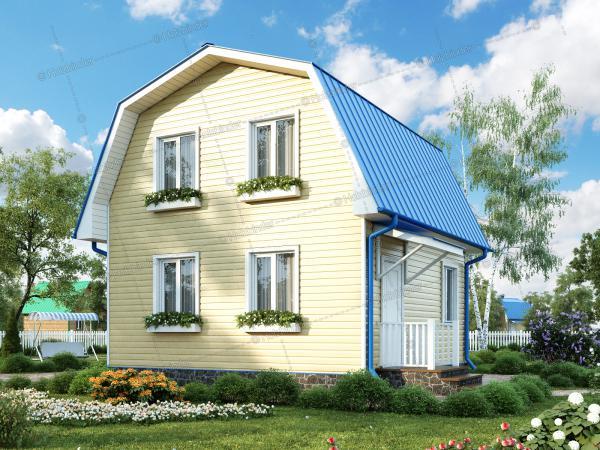Каркасный дом Простоквашино