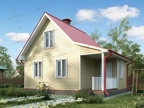 Каркасный дом Селигер