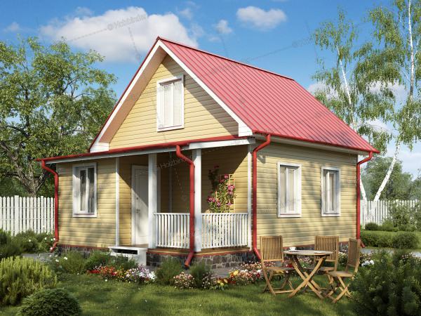 Каркасный дом Семейный