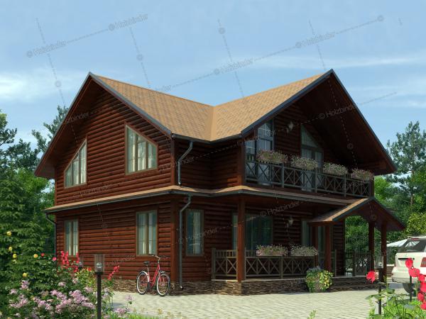 Дом из клееного бруса Добрыня