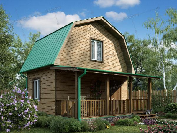 Дом из клееного бруса Радонеж