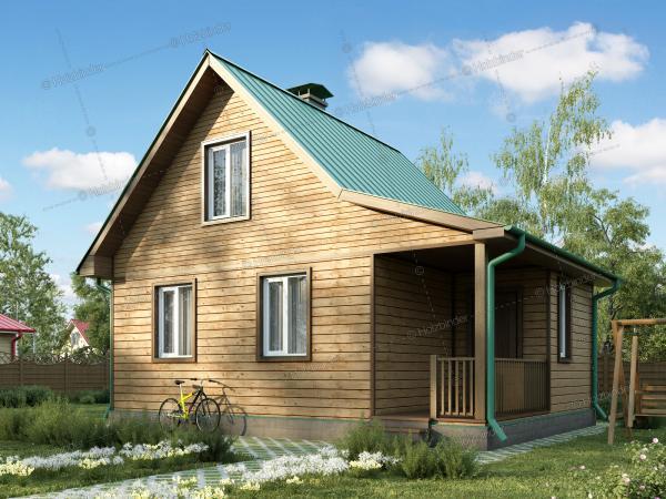 Дом из клееного бруса Селигер