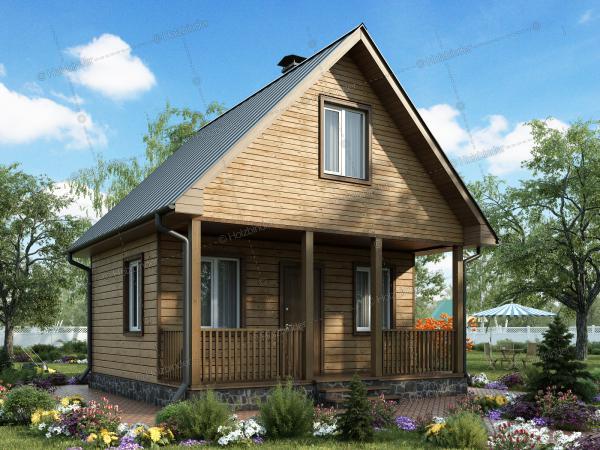 Дом из профилированного бруса Комарово