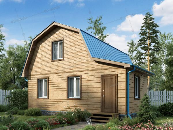 Дом из профилированного бруса Лесная Сказка-2