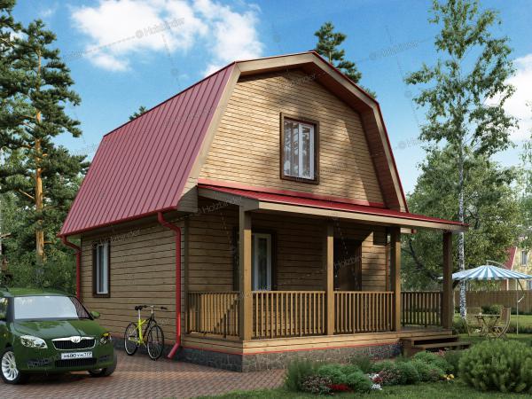 Дом из профилированного бруса Радонеж-2