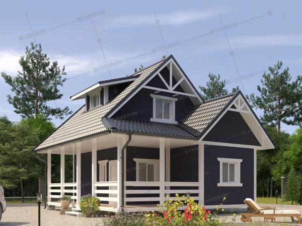 Дом из профилированного бруса Велес