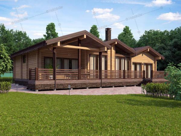 Каркасный дом Астория