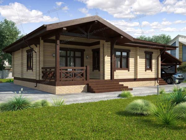 Каркасный дом Лотос