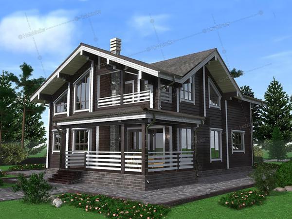 Дом из профилированного бруса Ричмонд