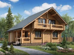 Дом из бревна Святогор