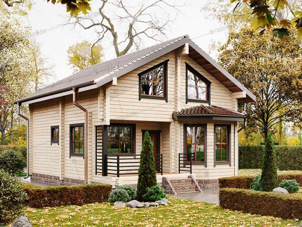 Каркасный дом Финнмарк