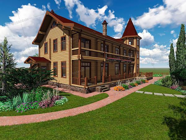 Каркасный дом Монтевиль
