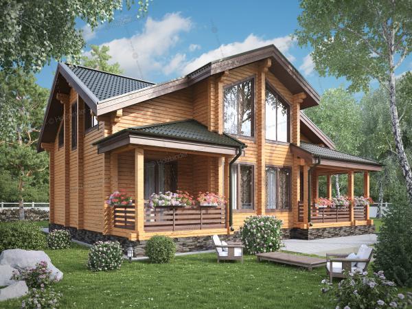 Каркасный дом Оникс