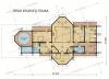 Дом из профилированного бруса Сапсан 2 этаж