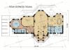 Дом из профилированного бруса Сапсан 1 этаж
