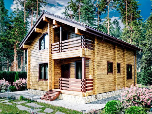 Каркасный дом Березки