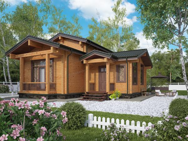 Каркасный дом Албатрос