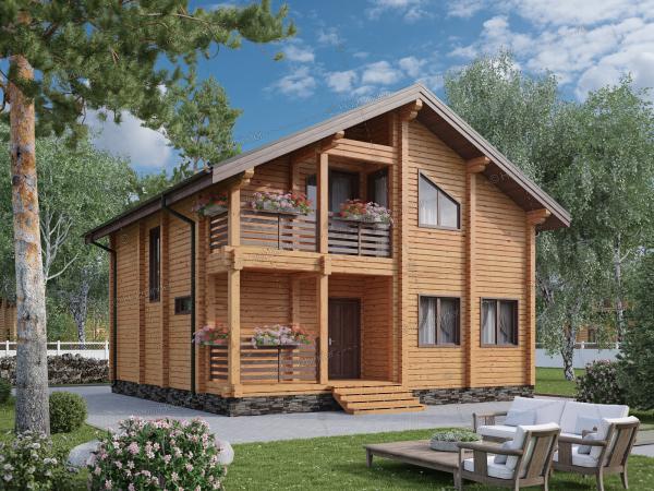 Каркасный дом Добрынинский-2