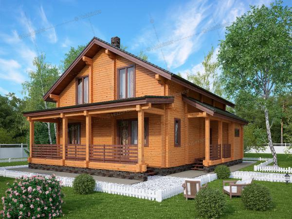 Дом из клееного бруса Родники