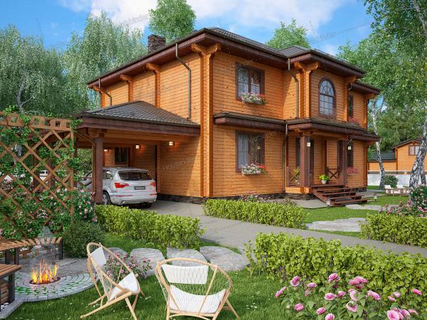 Дом из профилированного бруса Царское Село