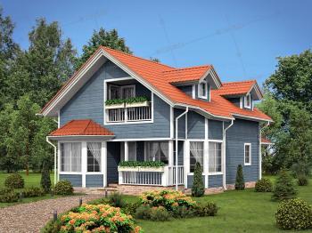 Дом из клееного бруса Арт Вью Хаус