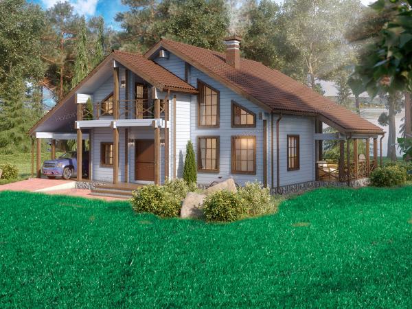 Каменный дом Well House