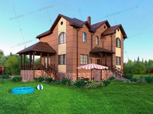 Дом из клееного бруса Примавера