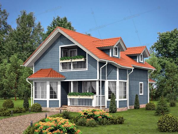Дом из профилированного бруса Арт Вью Хаус