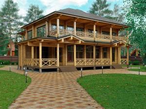 Каркасный дом Респект-2