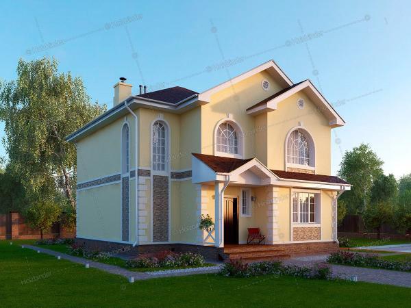 Дом из профилированного бруса Невада